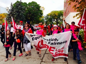 Local 2348 participating in AIDS Walk Winnipeg 2014